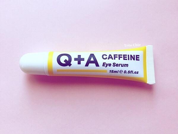 オーディナリー似のQ+Aカフェインアイセラム