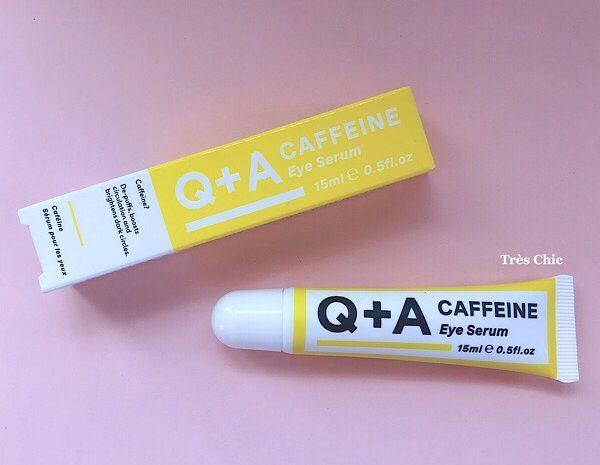 Q+Aのカフェインアイセラム