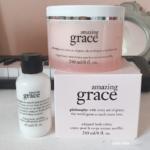 フィロソフィーphilosophyの人気香水アメイジンググレイスAmazing Graceの香りのボディクリームとファーミングボディローション
