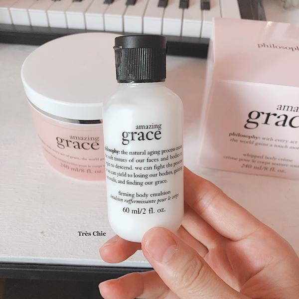 philosophyの人気香水Amazing Graceの香りのファーミングボディローション