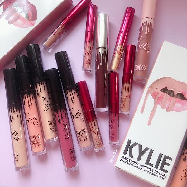 カイリー・コスメティックス(Kylie Cosmetics)のリップをレビュー