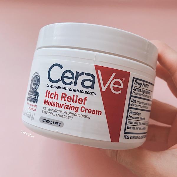 アイハーブで買えるCeraVe (セラヴィ)の痒み軽減クリーム 顔に使える?口コミします