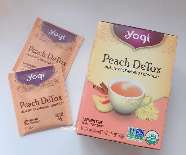 アイハーブで買ったヨギティーのピーチデトックス(yogi tea Peach Detox)