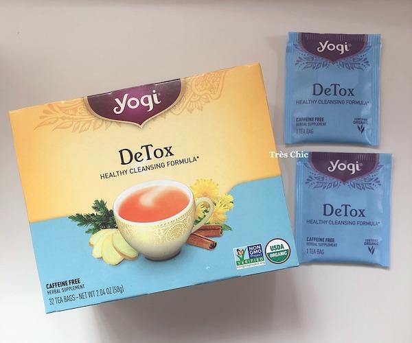 アイハーブで買ったヨギティーデトックス(yogi tea Detox)