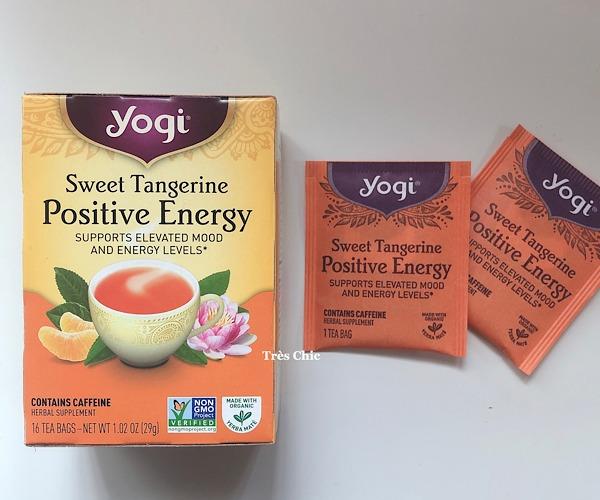 アイハーブで買ったヨギティーのポジティブエナジー(Yogi Tea Positive Energy)