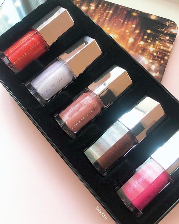 口コミでも評判の良いフェンティビューティー(fenty beauty)グロスボム Glossy Posse Mini Gloss Bomb Collection をレビュー