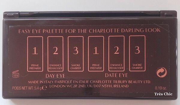 Charlotte Tilbury Easy Eye Palette Darling  シャーロット・ティルブリー アイシャドウパレット ダーリンがオススメな理由