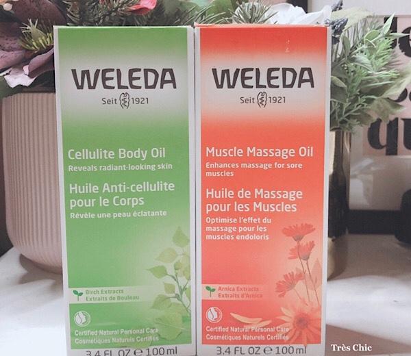 Weleda(ヴェレダ) のボディオイルをレビュー#アイハーブ購入品