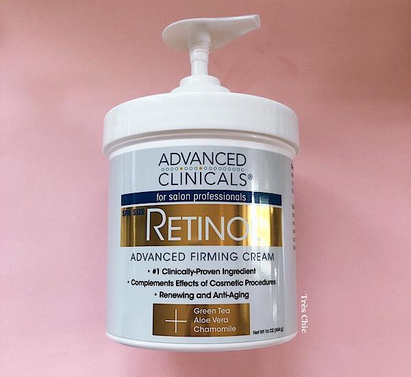 アイハーブ購入品のAdvanced Clinicals のレチノールクリーム