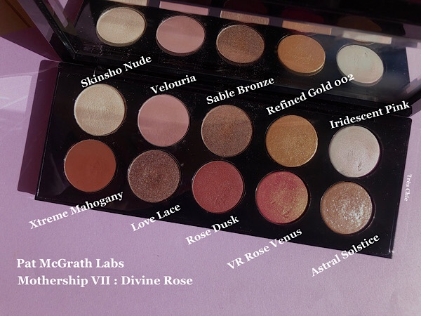 Pat McGrath Labs Mothership Divine Rose パットマグラスのアイシャドウパレット ディバインローズをレビュー