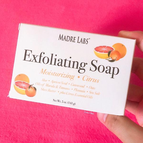 アイハーブで買えるMadre Labs  Exfoliating Soapは角質除去石鹸