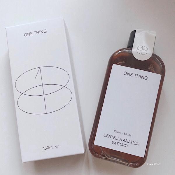 韓国コスメOne Thing (ワンシング) Centella Asiatica Extract(センテラアジアチカ)シカクリームと同じツボクサエキス