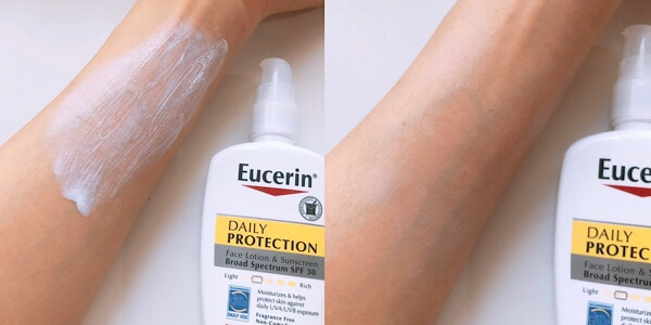 Eucerin Daily Protection ユーセリンの日中用日焼け止めレビュー(iherb購入品)