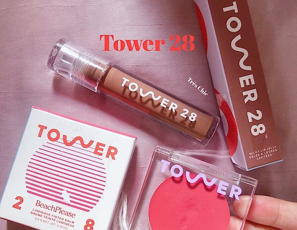 Tower 28のクリームチークとリップグロスをレビュー