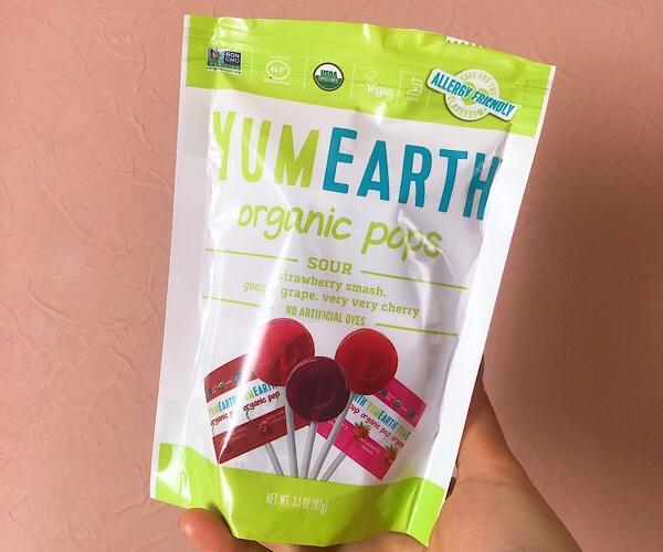 YUM EARTHのキャンディーはアイハーブのお菓子の中でも特におすすめ