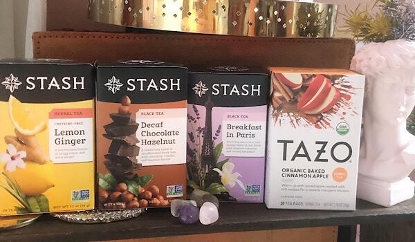 アイハーブで買えるお茶のおすすめはTAZO tea とSTASH