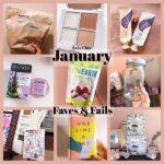 January Faves & Fails 1月のお気に入りなどを適当に紹介