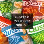 アイハーブで買える Quest(クエスト)のプロテインチップス5種類をレビュー