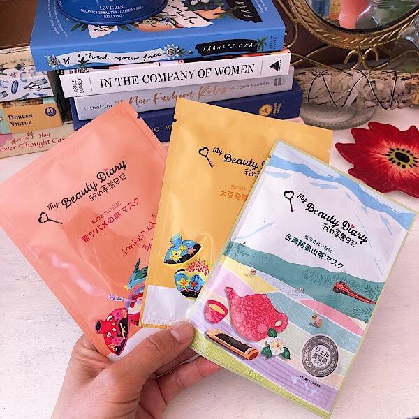 台湾のシートマスク 私のきれい日記(我的美麗日記)があまりにお気に入りでおすすめなので3種類を口コミ!限定も!