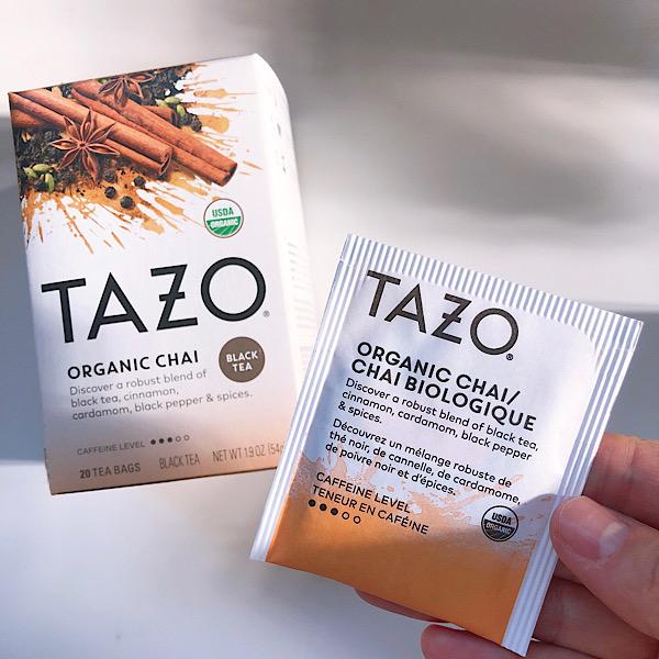 アイハーブで買えるお茶TAZOのチャイが美味しい!