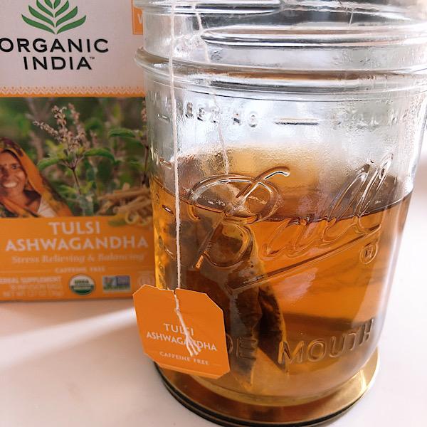 アイハーブで買えるお茶オススメはオーガニックインディアのアーユルヴェーダ茶、Tulsi
