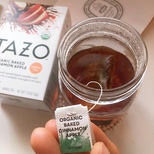アイハーブで買えるお茶はTAZOのベイクドシナモンがおすすめ