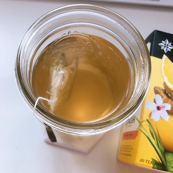 アイハーブで買えるSTASのハーブティー、レモンジンジャーのお茶が美味しくておすすめ