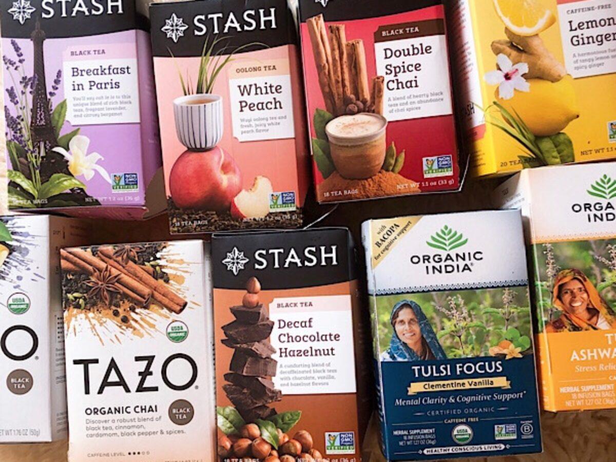 TAZO, STASH アイハーブで買えるハーブティー・紅茶・お茶ワタシ的おすすめ