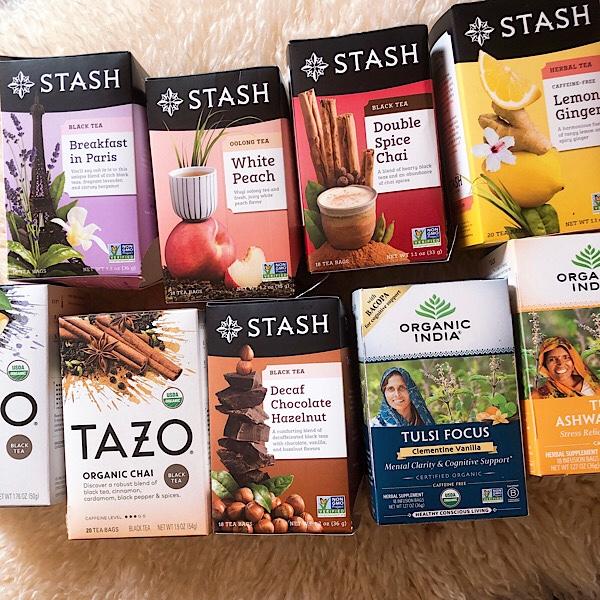 ティードリンカーなワタシおすすめ!アイハーブで買えるハーブティー、紅茶、高機能ティー(TAZO, STASH,モリンガ、アダプトゲン etc)レビュー