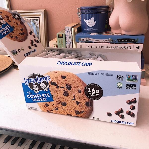 アイハーブで買えるプロテインクッキーのおすすめはQuestだけじゃな!Lenny&Larry'sのチョコチップが美味しい