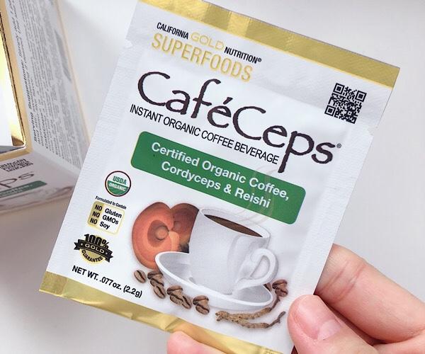 アイハーブで買えるコーヒー代替飲料のレイシコーヒー