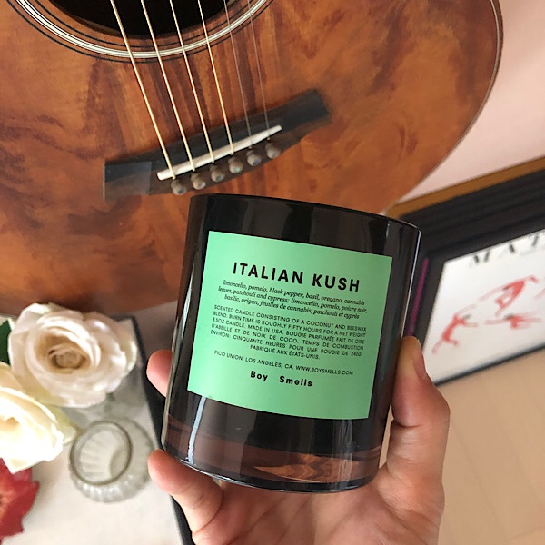Boy Smellsマリファナの香りのキャンドル Italian Kushをレビュー