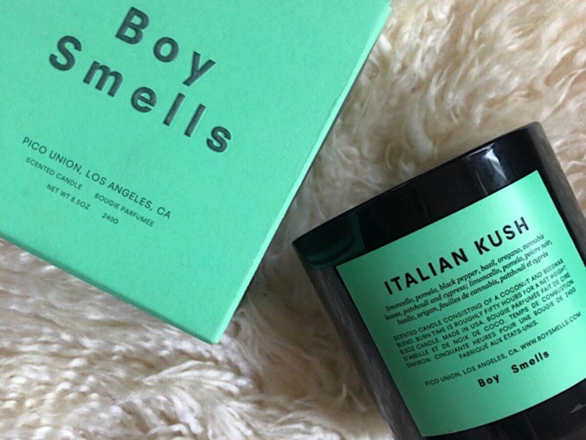 Boy Smellsマリファナの香りのキャンドル Italian Kush