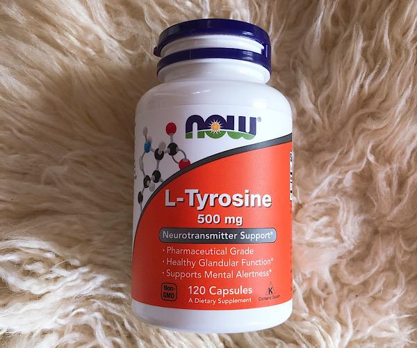 now L-チロシン500mgのサプリメントはアマゾンでも買える!