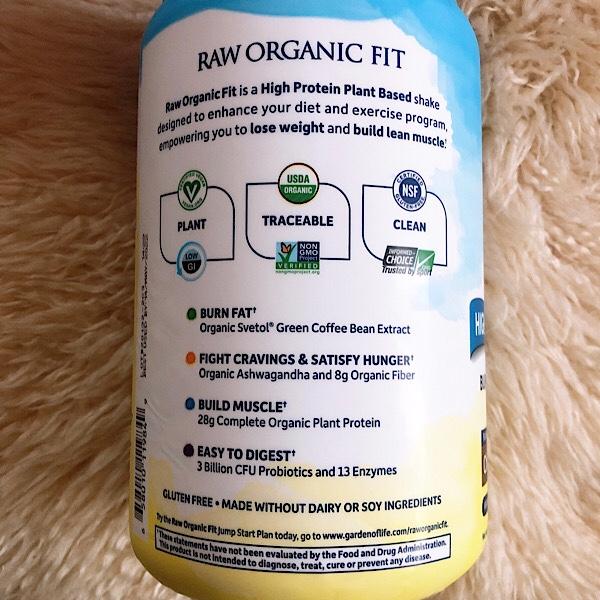 遂に出会った!最強のプロテイン!ダイエットにおすすめGareden of Life Raw Organic Fit
