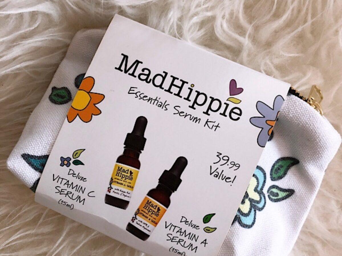 Mad Hippie大人気ビタミンCセラム&ビタミンAセラム入りのミニセットをレビュー