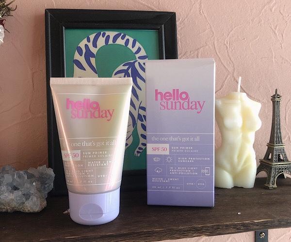 Cult Beautyで買えるクリーンビューティおすすめ!Hello Sundayの日焼け止めSun Primer -サンプライマーを口コミ