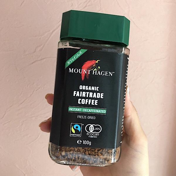 アイハーブで人気のオーガニックインスタントコーヒーのカフェインフリー